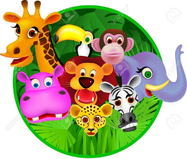 clip black and white library Free cliparts download clip. Animal group clipart