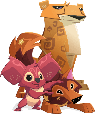 picture freeuse library animal jam clipart #56700882