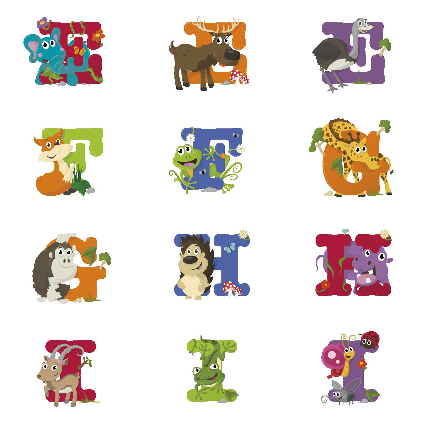clip art freeuse Animal letters clipart. Bilmaw alphabet image