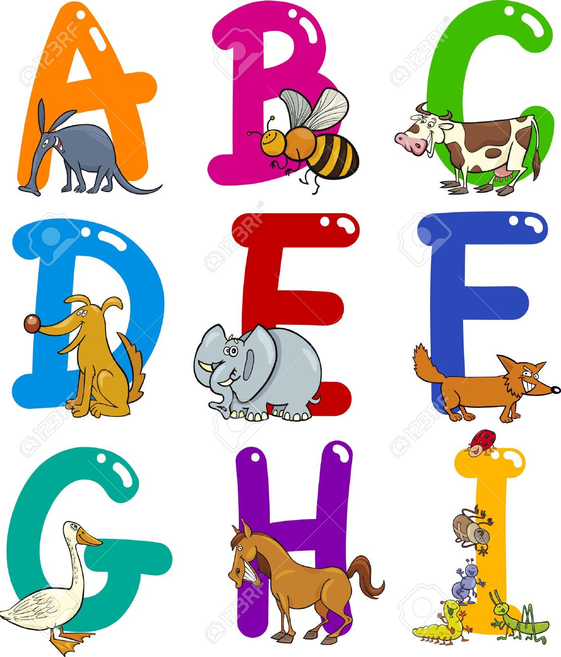 png free stock Animal letters clipart. Free download best