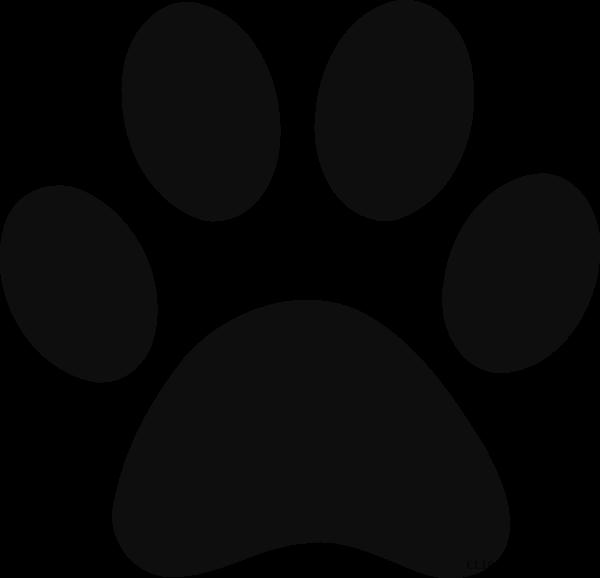 svg freeuse Grayscale print clipartblack com. Animal paw clipart