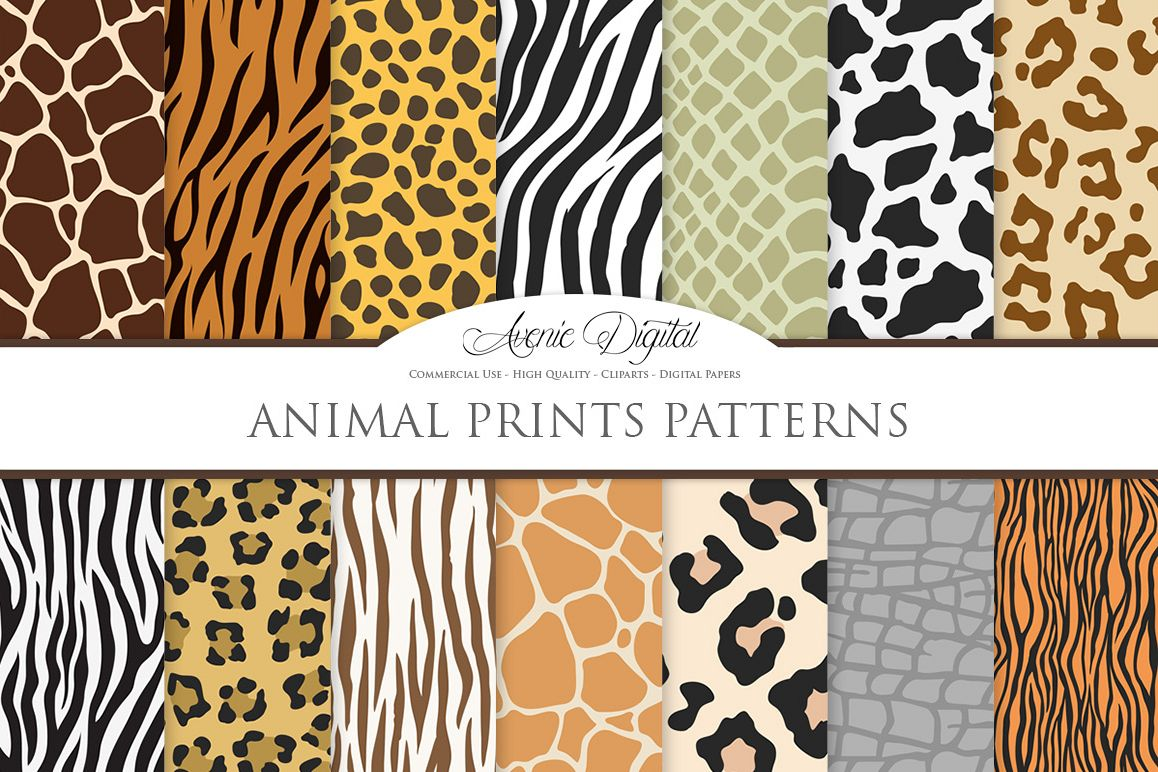 png freeuse download Vector patterns safari seamless. Animal print clipart