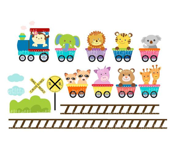 picture library download Free jungle cliparts download. Animal train clipart