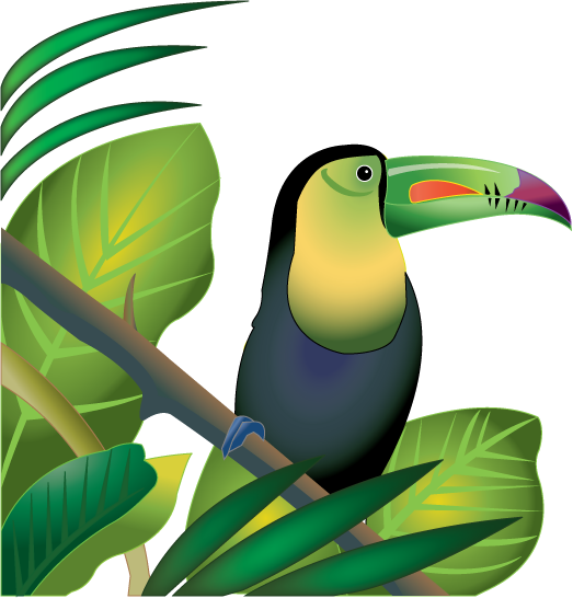 vector freeuse library Plant and animal clipart