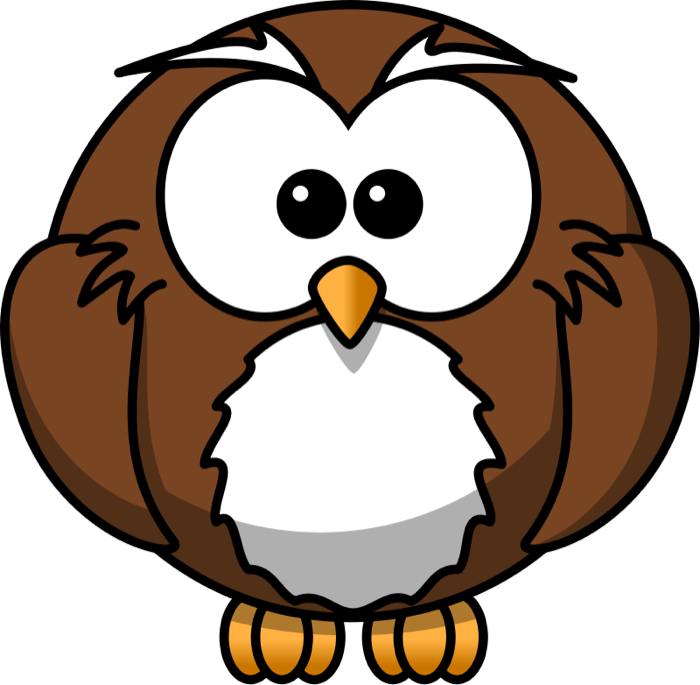 image library library Clipart animated images graphics. Vector crest owl