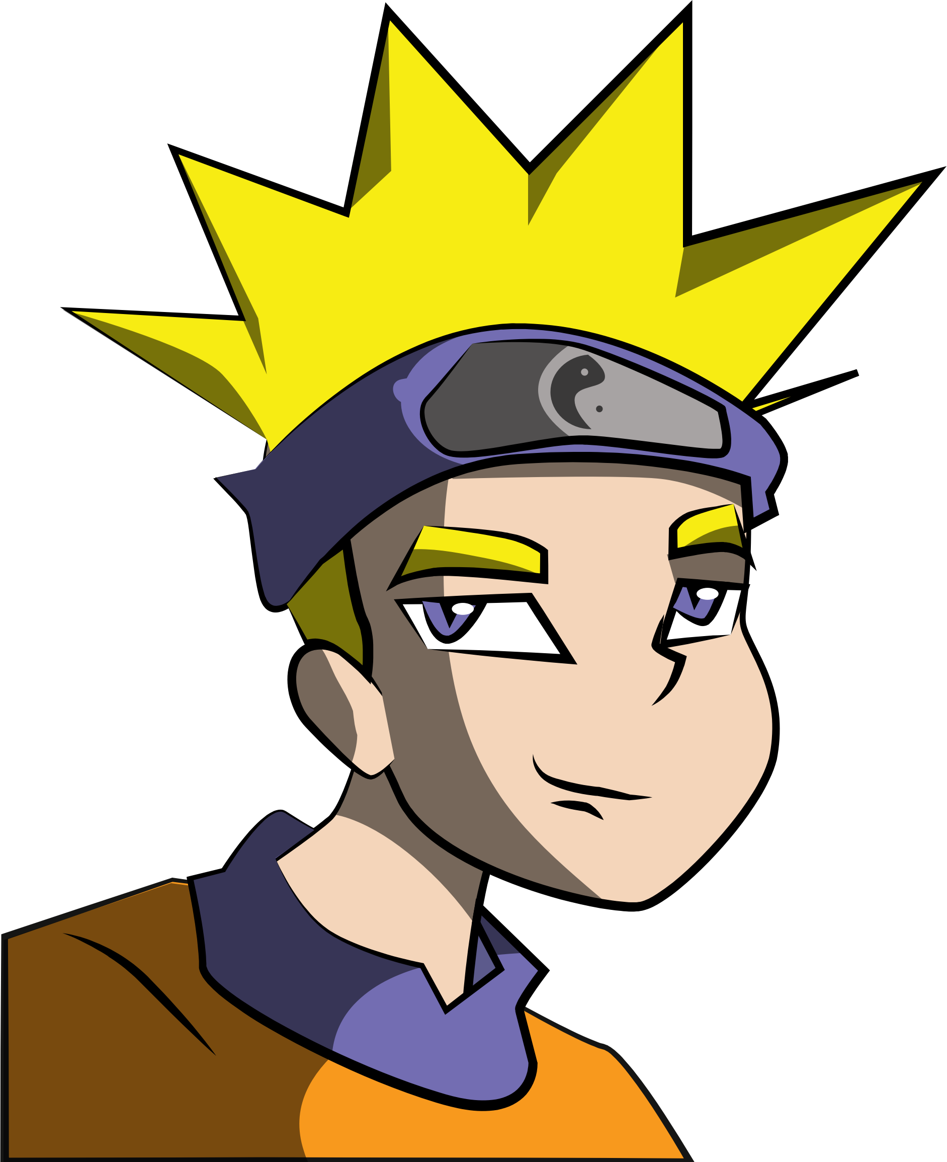 vector royalty free Anime clipart. Boy big image png.
