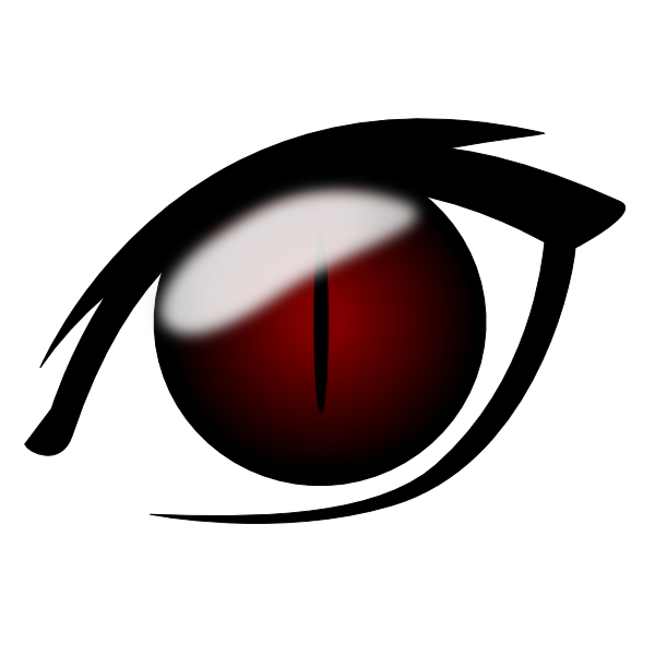 freeuse download Anime Eye Clip Art at Clker