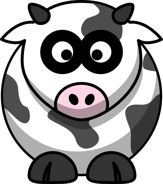 clipart royalty free stock Brown cartoon clip art. Cow face clipart black and white