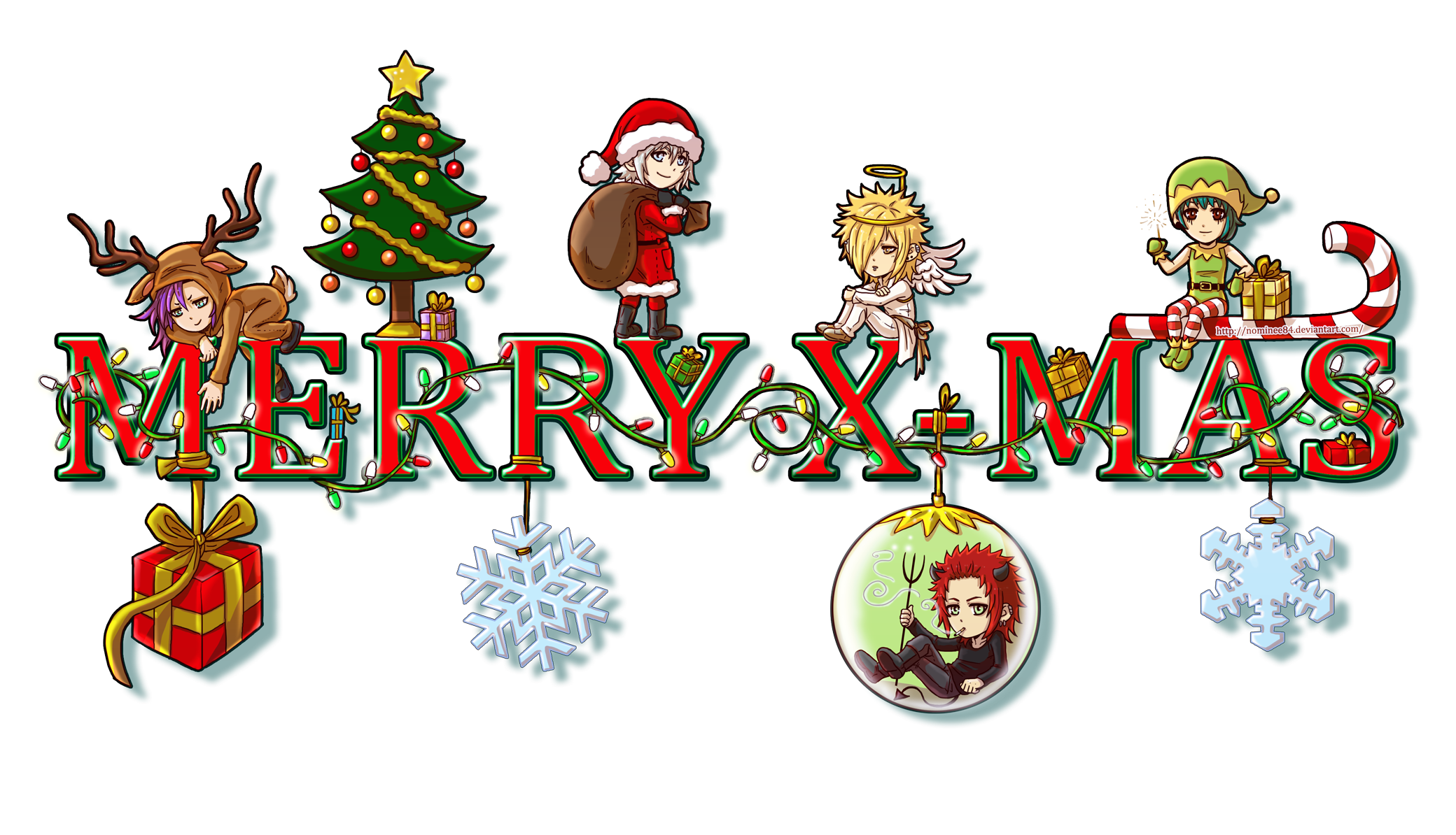 graphic transparent stock Anime clipart christmas. Merry by nominee on.