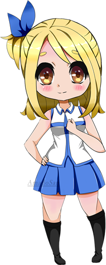 graphic freeuse Lucy from by amadosan. Anime clipart fairy tail.