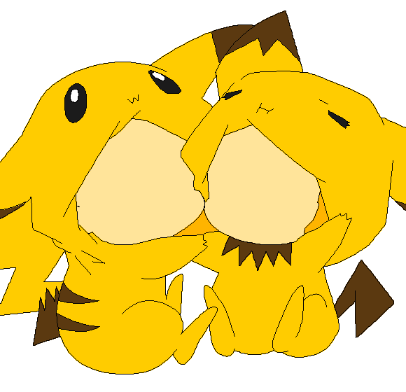 png stock Base levi and eren. Anime clipart pikachu
