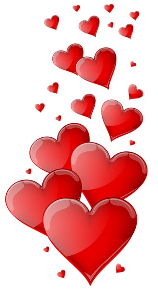 clip art royalty free Red Hearts PNG Clipart Image