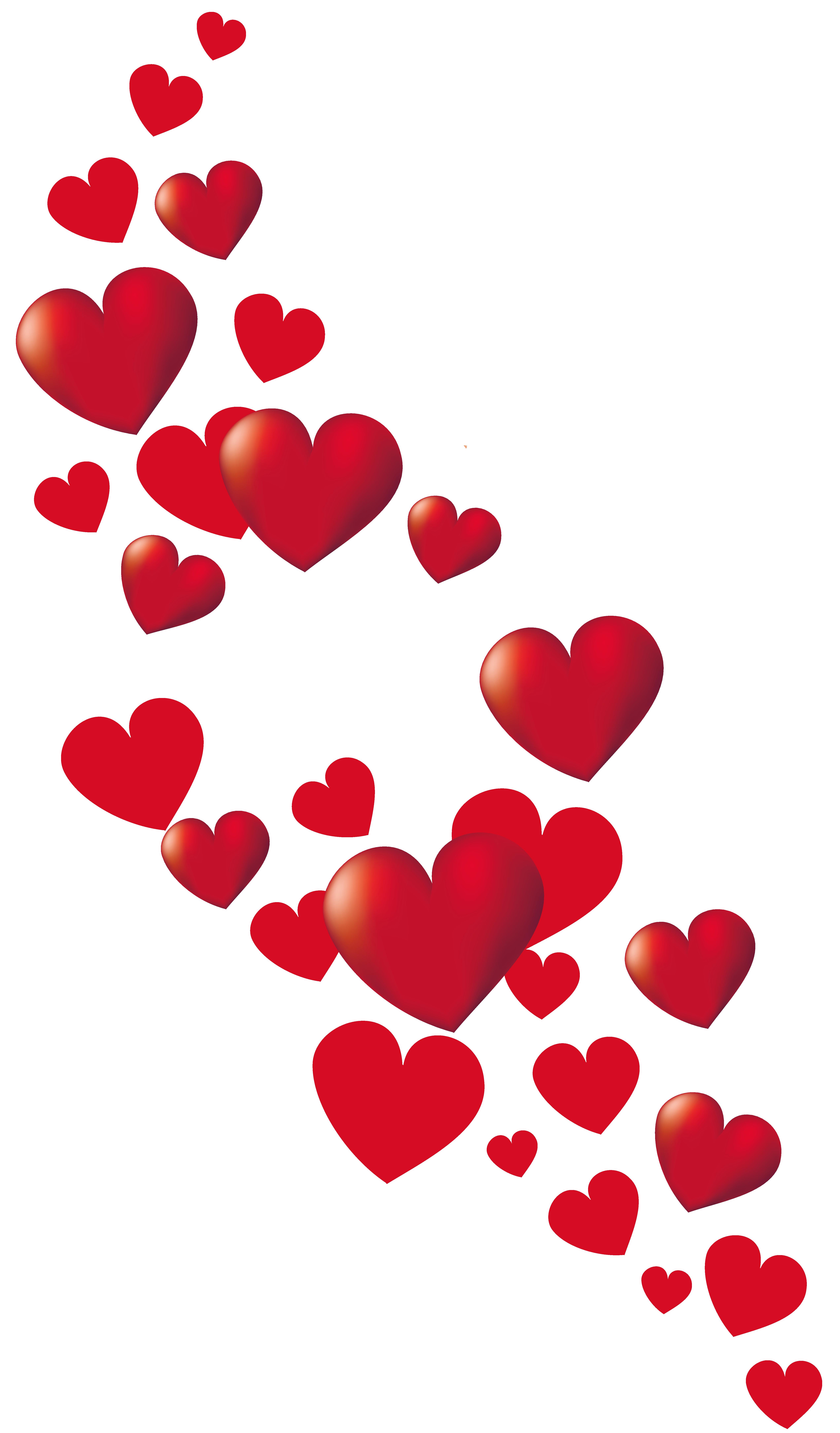 graphic transparent stock Hearts decor png picture. Boho clipart valentine