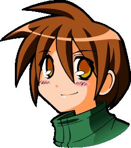 clip art Kid clip art at. Anime clipart.