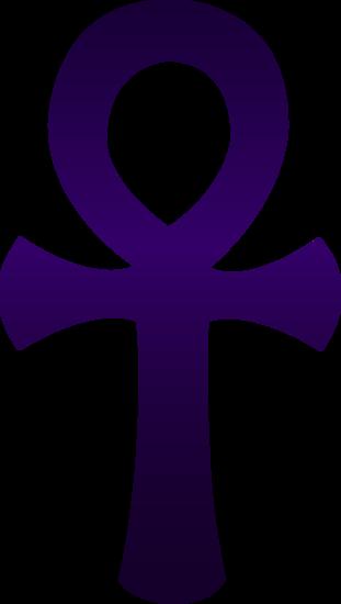 graphic freeuse stock Violet Egyptian Ankh Symbol