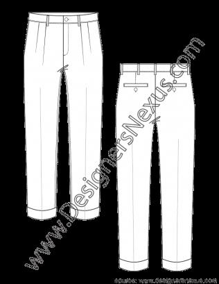image library download  mens apparel flat. Drawing ruffles pleat