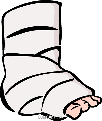 image library ankle drawing broken #89045438