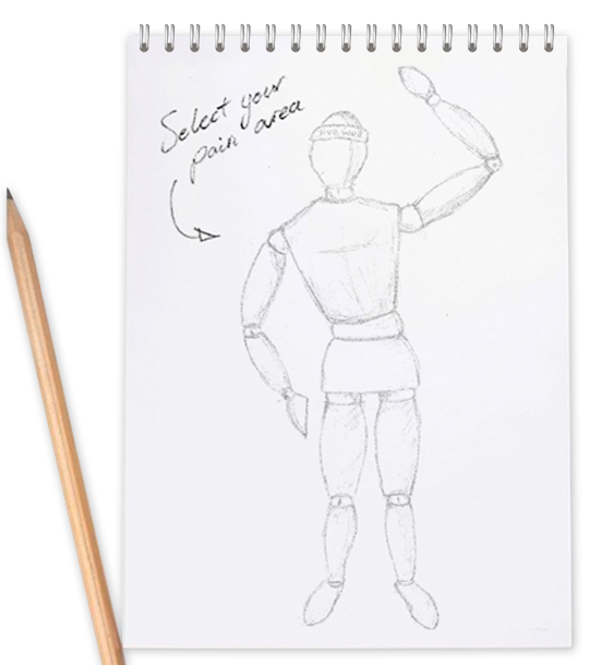 clipart black and white download Ankle live well physio. Drawing neck muscle