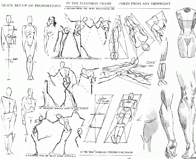 image royalty free library Human Perspective Drawing at GetDrawings