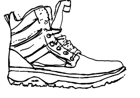 png free Outdoor clothing footwear wear. Drawing sneakers boot