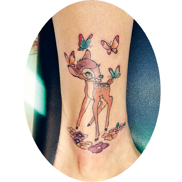 picture free Bambi Tattoo