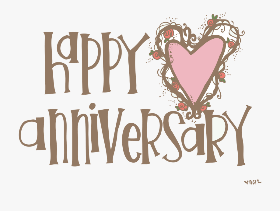 graphic free download Anniversary clipart. Happy th clip art