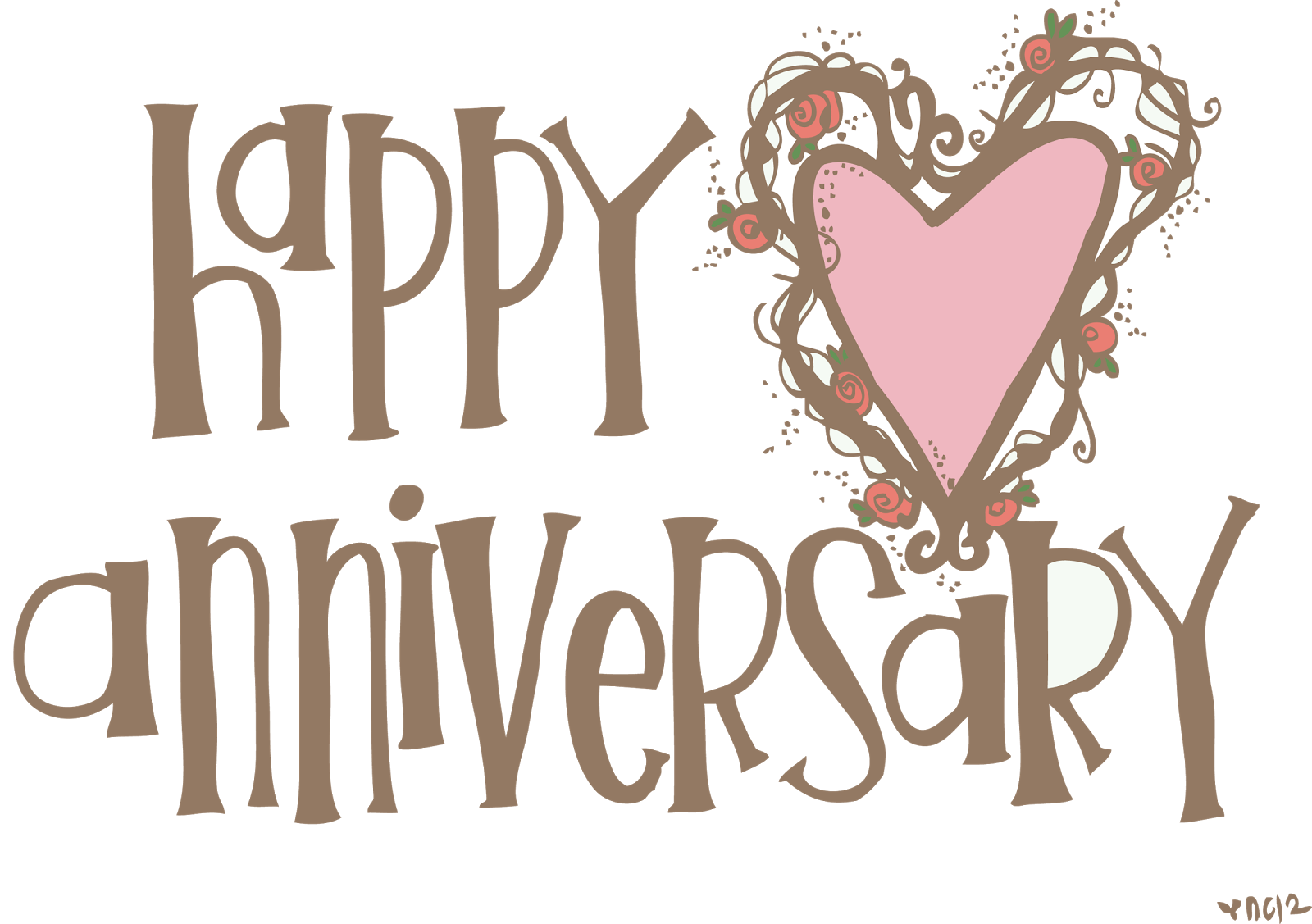 clip art black and white stock  collection of happy. Anniversary clipart