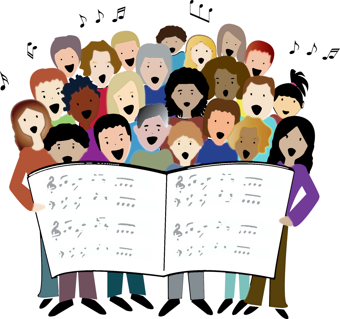 picture free stock Anniversary year events chorale. Boulder clipart illustration.