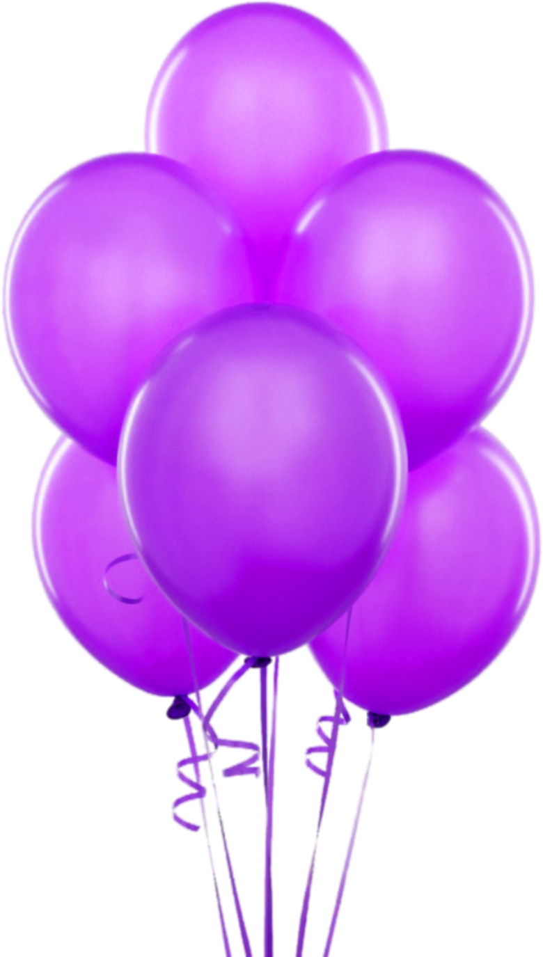 banner library library Purple Transparent Balloons Clipart