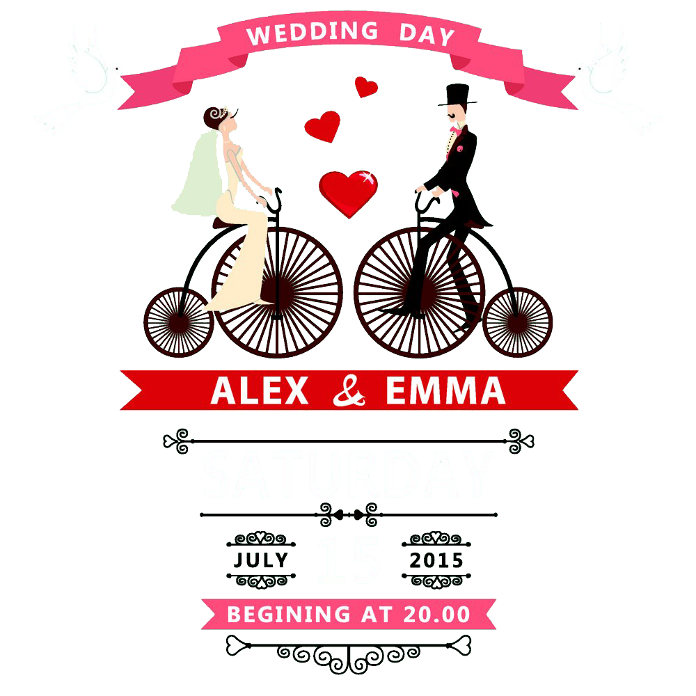 image library Wedding invitation vector