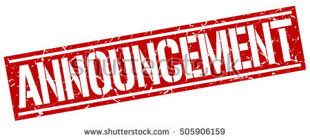 graphic royalty free library Station . Announcements clipart announcement banner