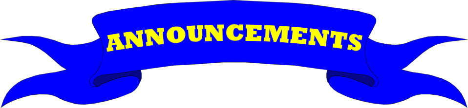image transparent stock Images of Announcement Banner