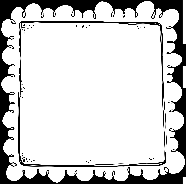 jpg black and white stock Rectangle clipart printable. Border or frame for