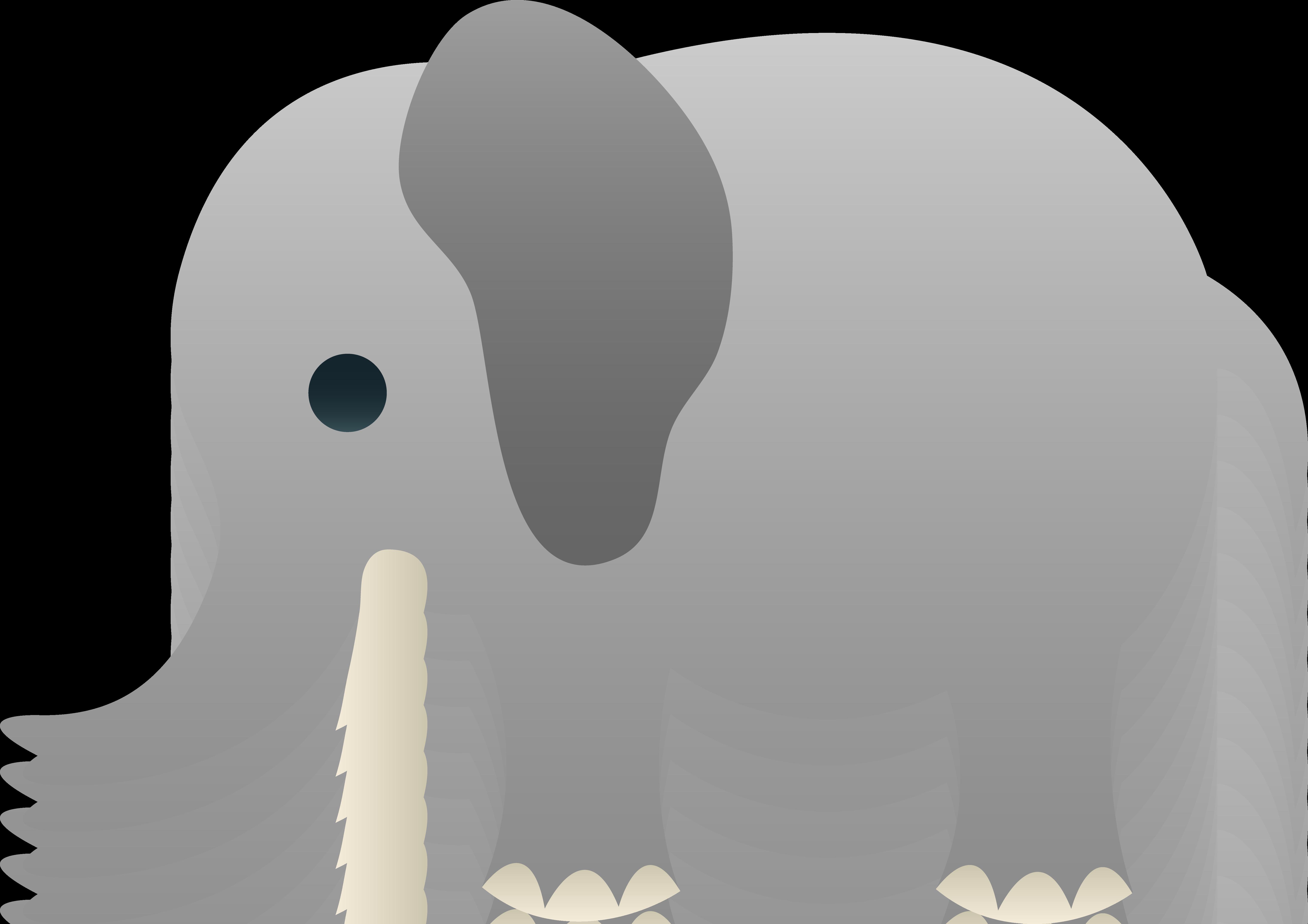 svg free Announcement clipart elephant. Cute little clip art.