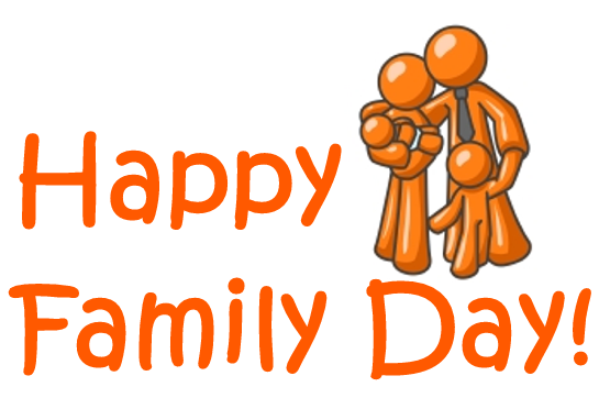 free download Day weekend dojo closed. Announcement clipart family event.