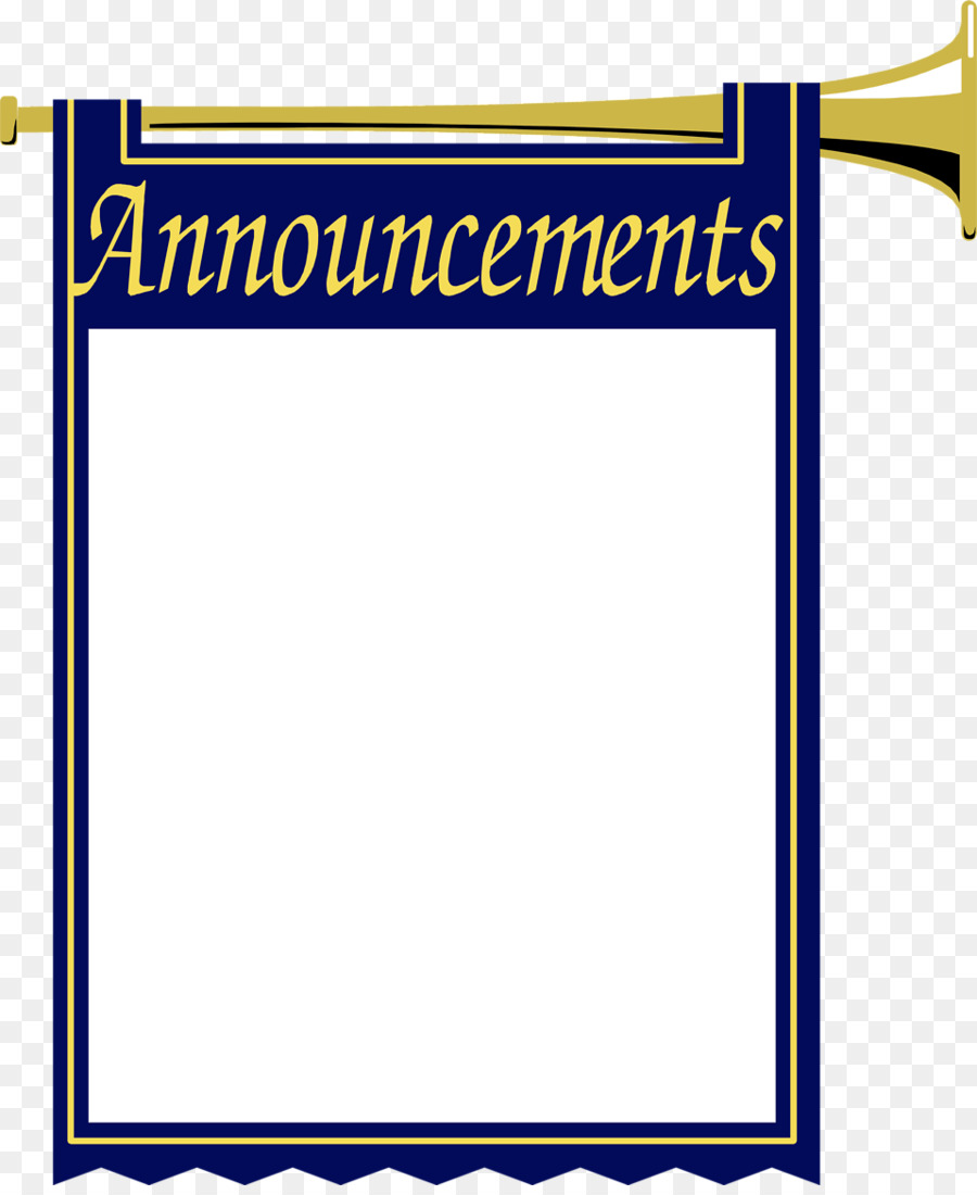 clip royalty free Announcements clipart announcement banner.