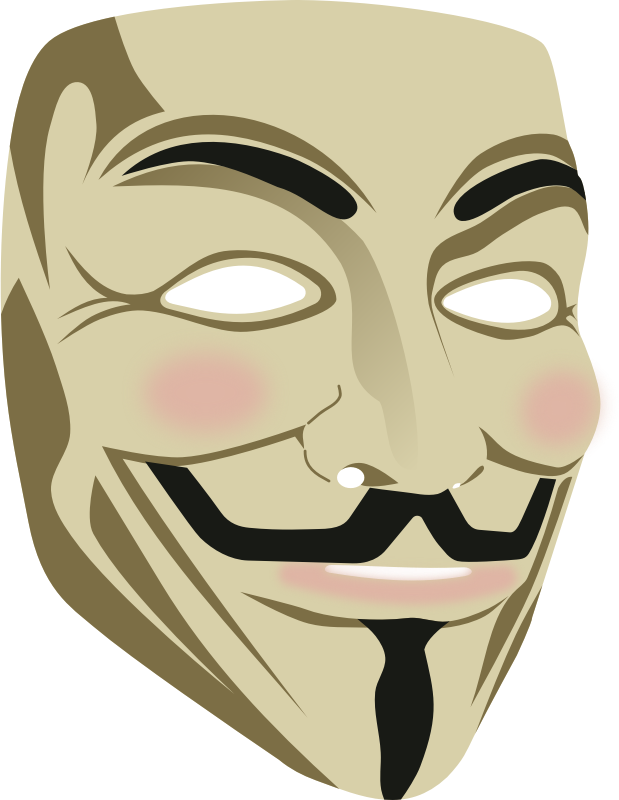 clip royalty free download anonymous drawing mask guy fawkes #109535474