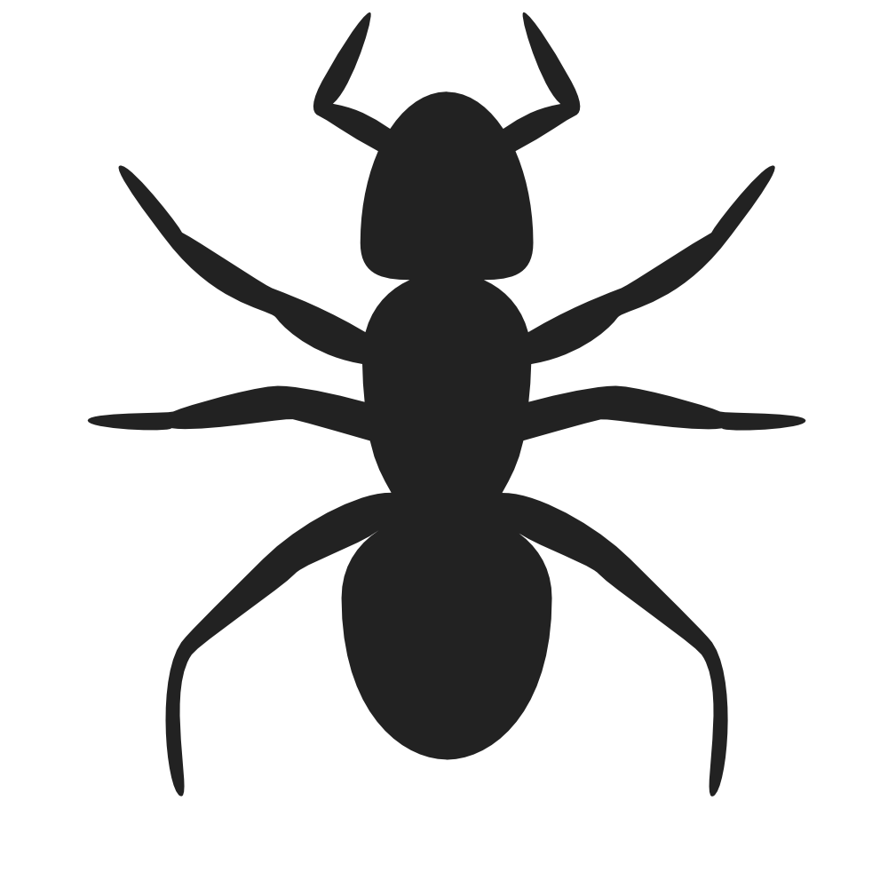 clipart black and white download Ant clipart blank. Onlinelabels clip art icon.