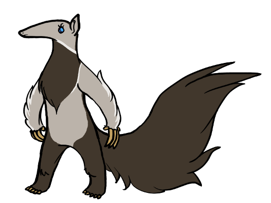 picture library Giant Anteater by MegaRose on DeviantArt