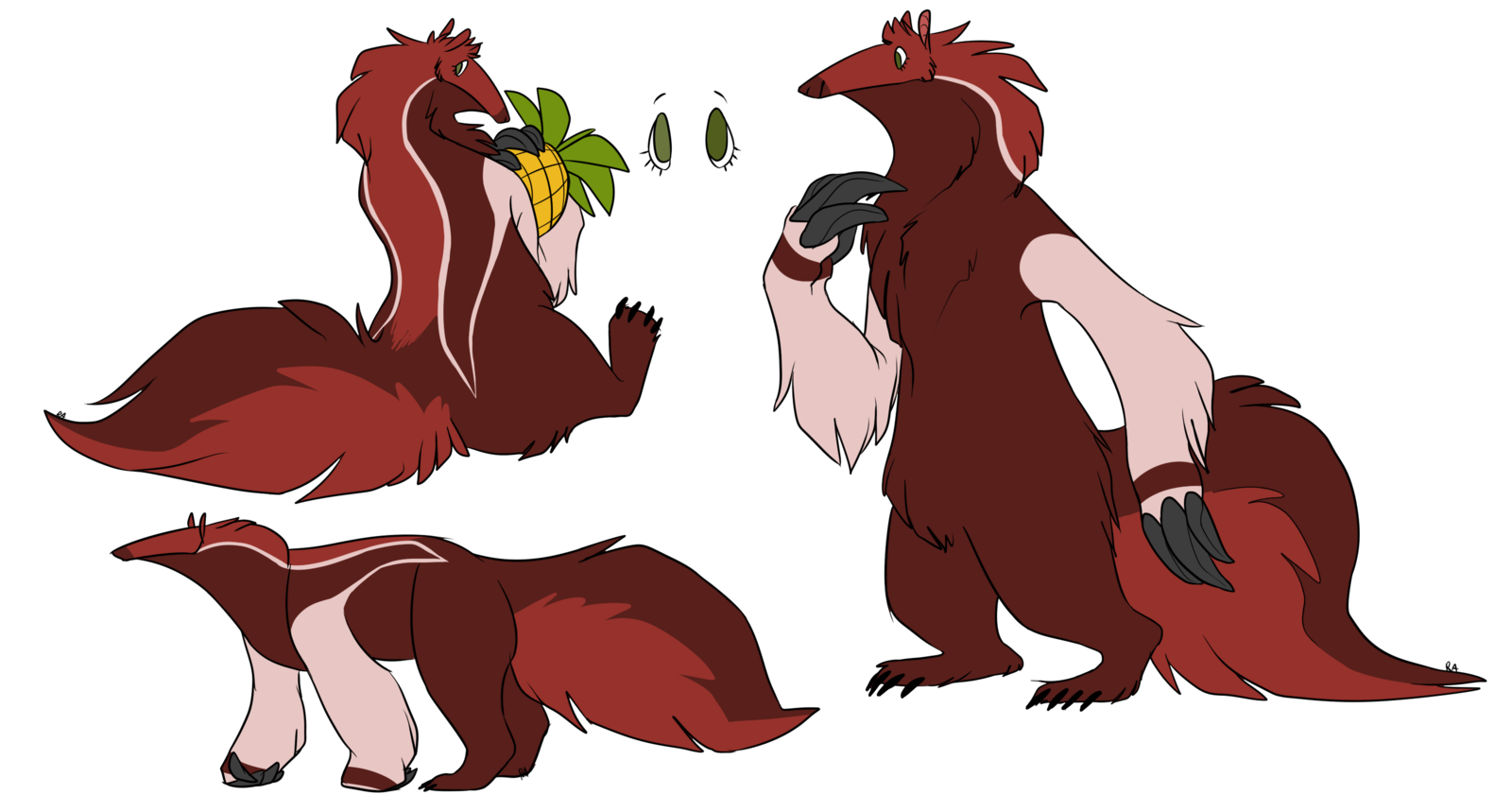 png stock new Ani ref by red