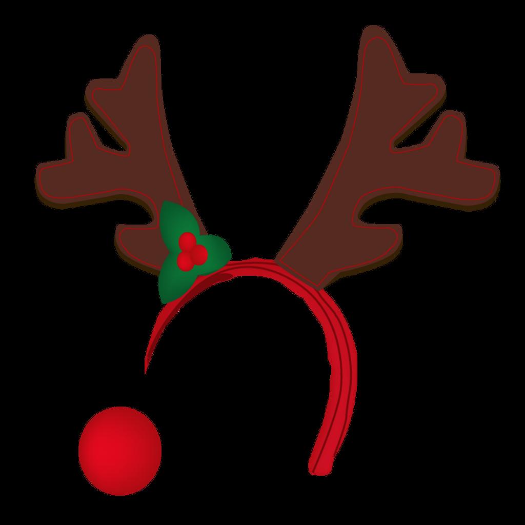 svg library library Antler reindeer hat free. Boho clipart deer