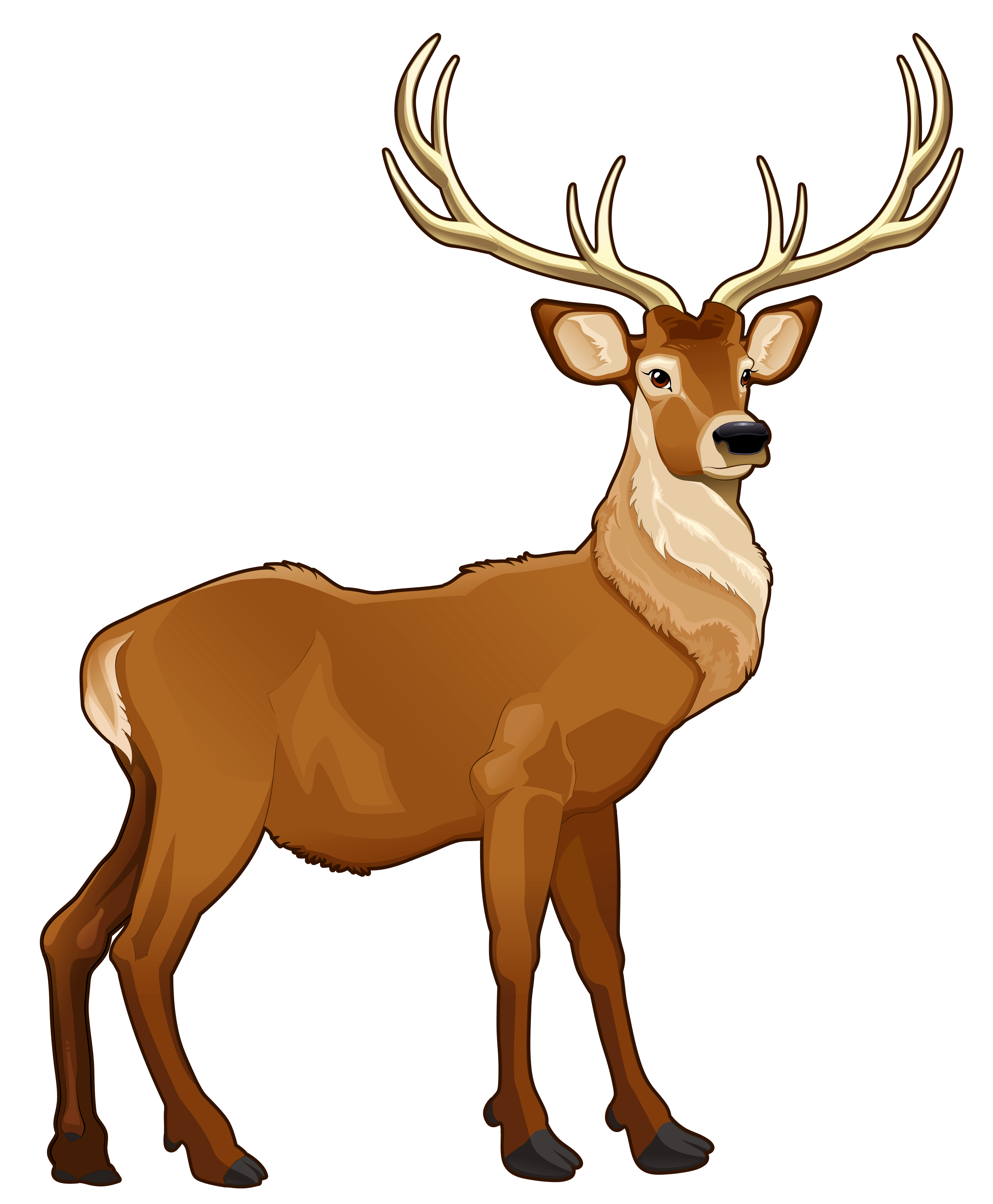 image freeuse Brown reindeer png picture. Dead clipart dead donkey