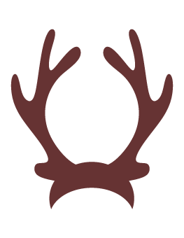 clipart library library  collection of reindeer. Antlers clipart.