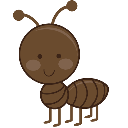 svg royalty free stock Ant children s free. Ants clipart children's.