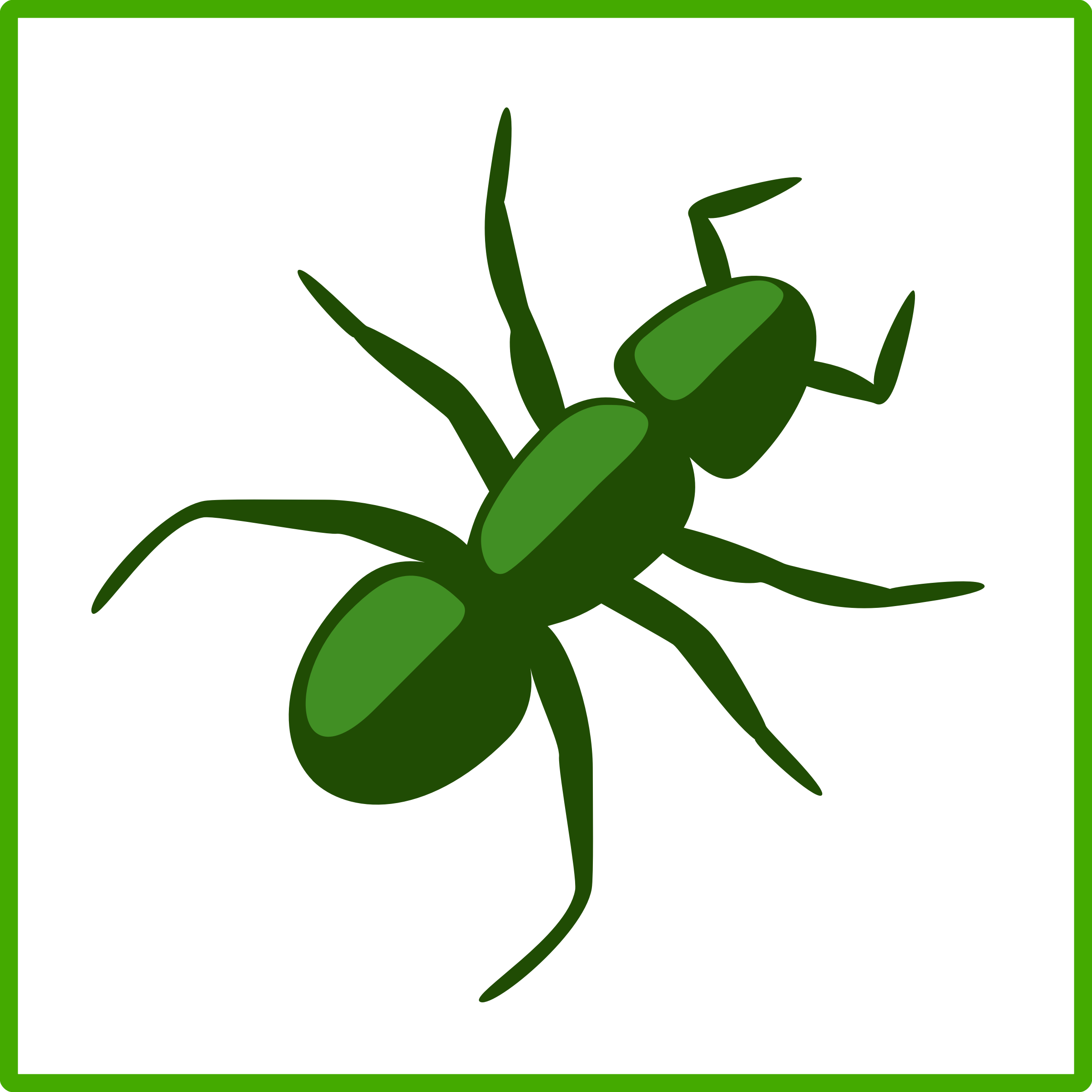 freeuse library Ants working together clipart. Eco green ant icon