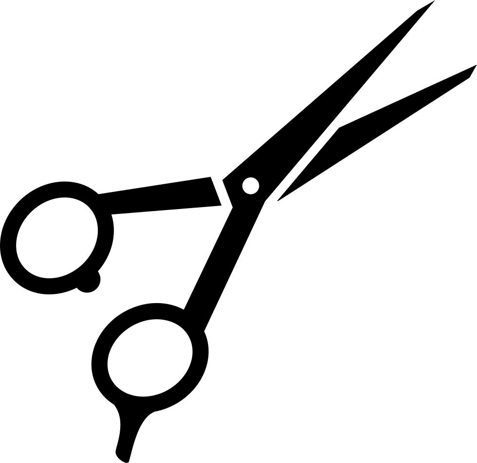 jpg black and white download Scissor Clipart svg