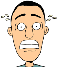 picture transparent Nervous clipart anxious. Emotions google search ad.