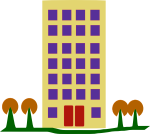 picture free From building . Apartment clipart.