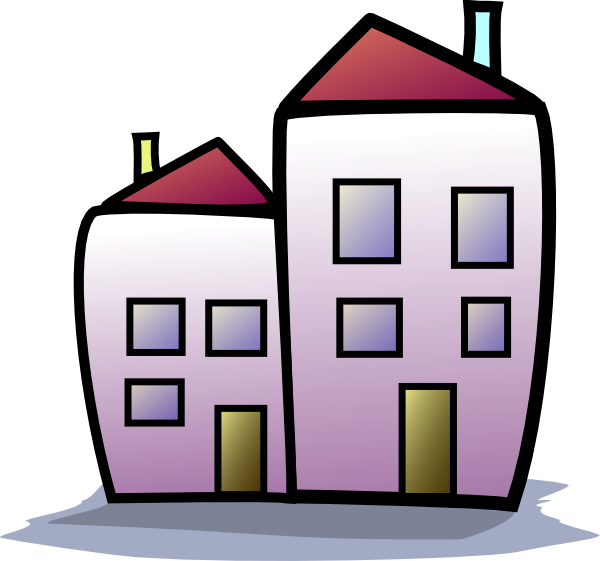 image royalty free stock Houses clipart. Apartment .