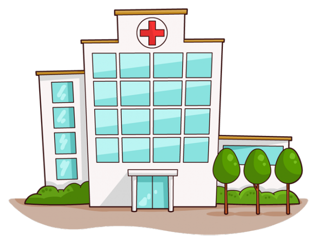svg library download Buildings clipart hospital. Building free on dumielauxepices